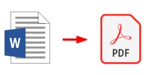 WordデータをPDFで保存
